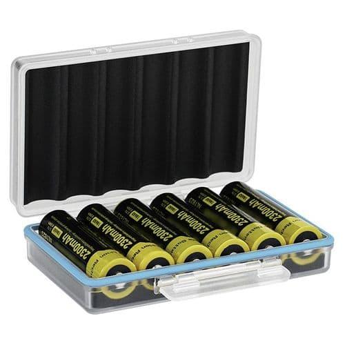 Boîtier Batterie Pour 6 Batteries 18650 Boîtier Rigide Étanche Résistant À L'Eau